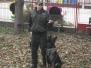 Ukážka práce psovodov